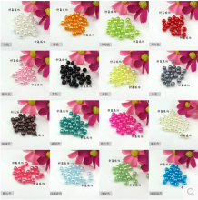Free Shipping 10mm 50pcs 18 color, ABS Imitation Pearls Beads, Pearls round for crafts,DIY Crafts Nail Art Decoration(China)
