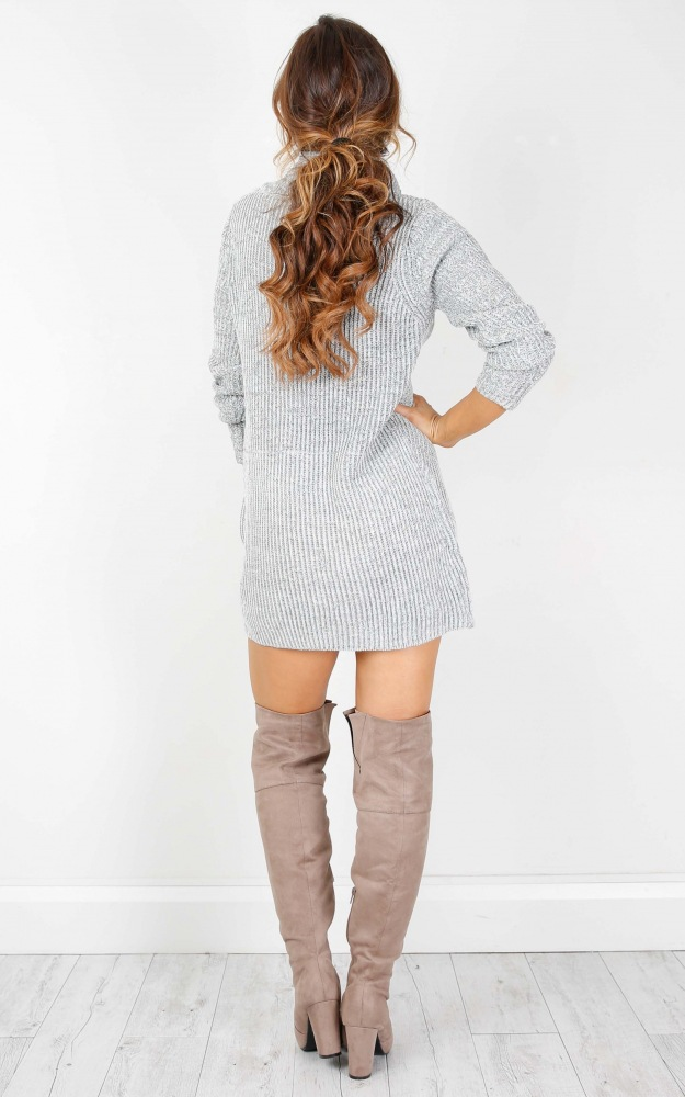 Turtleneck Long knitted pullover sweater, Women's Jumper, Casual Sweater 26