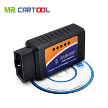 High Quality ELM327 Bluetooth V1.5 Works On Android Torque OBD2 OBD-II Diagnostic Tool Bluetooth ELM327