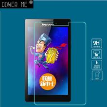 9H Tempered Glass Screen Protector Film for Lenovo Tab 2  A7-30 A7-30tc hc+ Alcohol Cloth + Dust Absorber