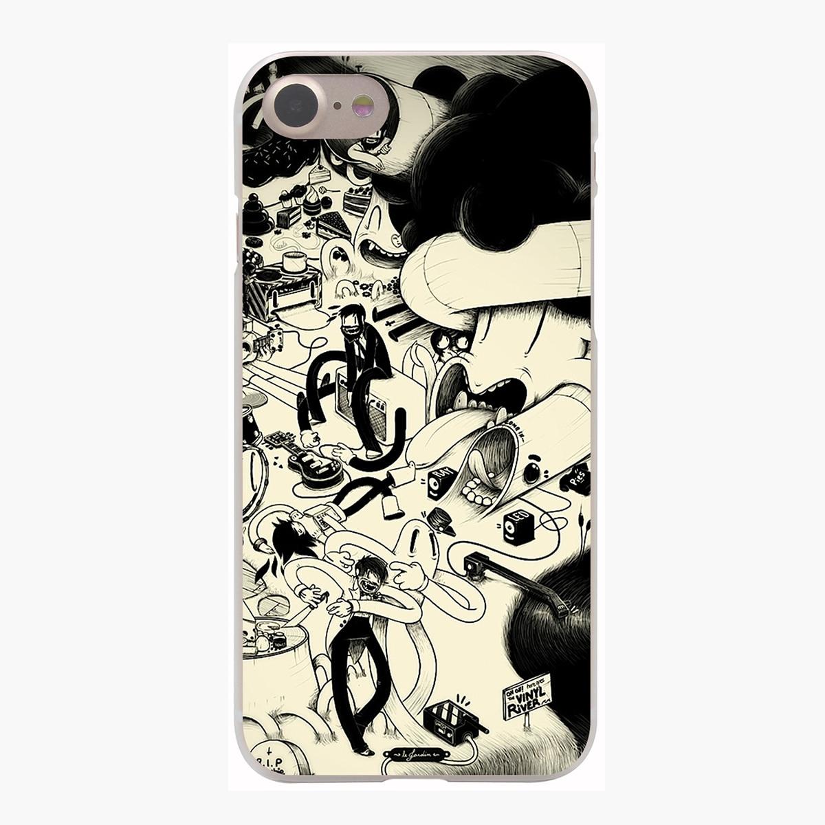 Lavaza Deadmau5 Cover Case for iPhone X 10 8 7 Plus 6 6S Plus 5 5S SE 5C 4 4S Cases