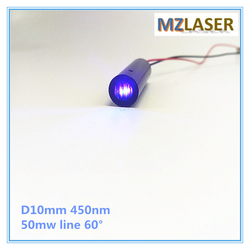 High End 50mW 450nm Green Line 60 degree Laser Module Industrial areas 10mm<br>