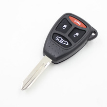 Key Housing 4BTN Car Remote Key Fob Case Shell Uncut Blade For Chrysler Key FOB For Jeep Dodge Chrysler Key Shells Fob Cover