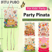 Theme party Pinata Toys for Kids birthday Party Supplies Girl boy Birthday Gift Bags Pinata Fillers Carnival Prizes GYH