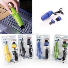 Computers Useful Vacuum Mini USB Keyboard Cleaner Laptop Brush Dust Cleaning Kit