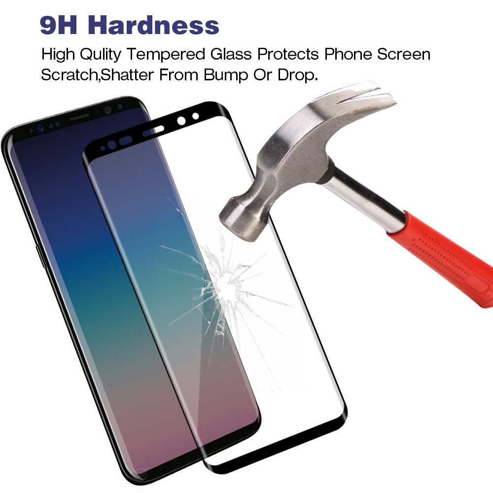 3D Curved Full Cover Tempered Glass For Samsung Galaxy S9 Plus S9 Screen Protector Protective Film For Samsung Galaxy S9 S9+ 5