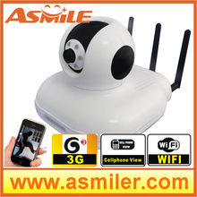3g sim card ip camera with 3G mobile video call ( option ) phone monitoring