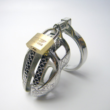 Buy SODANDY Small Chastity Device Metal Chastity Cage Penis Rings Stainless Steel Male Cock Rings Bondage Cock Cage Sex Product