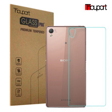 FOR SONY Z3 0.26mm 9H 2.5D Retail Box Back Tempered Glass For Sony Xperia Z3 L55 Premium Screen Anti Shatter Protector Film