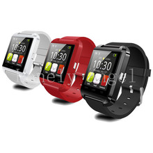Best U80 Smartwatch Support AltImeter Barometer Drink Clock Pedometer Bluetooth Smart Watch Phone FOR IOS Android SmartPhone