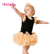 Design Girl Skirt Baby Tutu Cheap soft Cotton Rompers Spring Summer 2017 Hot Bodysuit Long Sleeve Body Clothing - YK&Loving Official Store store