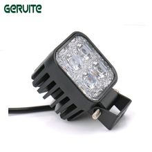 2 Pcs/Lot Mini 6 Inch 12W 4x3W Car LED Light Bar driving light as Worklight/Flood Light/Spot Light for Boating/ Hunting/ Fishing(China)