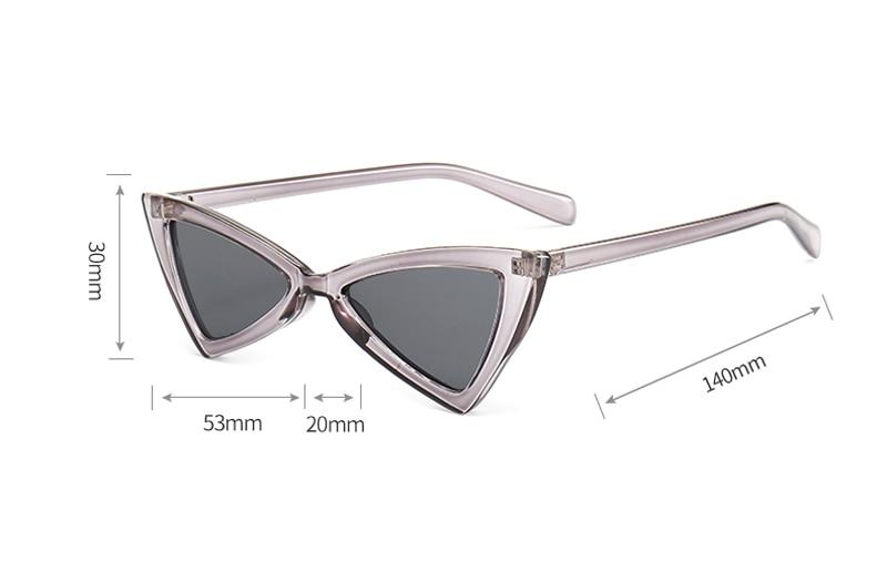 red triangle sunglasses women cat eye 0343 details (2)
