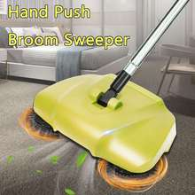 360 Degree Rotary Hand Push Floor Sweeper 3 in 1 Broom Mop Dustpan Trash BIn Multifunctional Household Automatic Cleaning Tools(China)