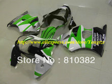 Hi-grade green white blk Fairing for 2005 2008 KAWASAKI ZZR600 05 08 ZZR 600 2005-2008 ZZR 600 05 06 07 08  body work