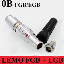 LEMO connector FGB EGB 0B 2 3 4 5 6 7 9 Pin Connector LEMO FGB.0B.3)*.CLAD**Z EGB.0B.302.CLL Two Keying ( 60 Degree )(China)