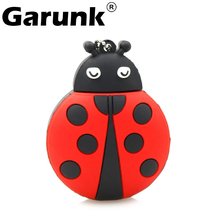 Usb flash dirve Ladybug pen drive 64gb USB 2.0 USB Stick Pendrive U disk Flash Memory Storage Pen Drive 32gb 16gb 8gb 4gb(China)
