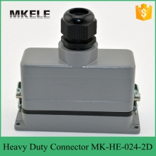 MK-HE-024-2D low cost bnc wire electrical connector for injection molding machine from China manufacturer