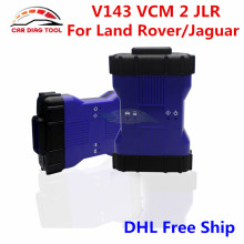 Newest V143 VCM 2 JLR VCM II Blue Color For Land Rover/Jaguar VCM2 IDS OBDII Auto Diagnostic Tool VCM II With Multi Function