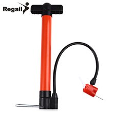 Multipurpose Mini Portable Bike Hand Air Pump with Two Needle Adapters Basketball Football Soccer Bike Tire Pool Hand Air Pump(China)