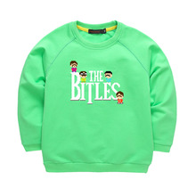 Kids Sweatershirt Boys Girls Clothing The Rock Band Printing Cotton Hoodies T shirt Long Sleeve Sweatershirt Kids Clothing