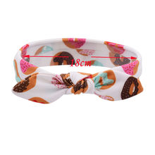 1PC Flower Headband Bowknot Turban Rabbit Ear Hairband Headwear Hair Band Accessories for Girls