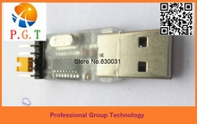 Best quality 1Pcs  USB to TTL converter UART CH340G CH340 3.3V 5V switch replace of CP2102 PL2303 module