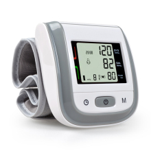NEW!! GREY Automatic Wrist Blood Pressure Monitor Digital Wrist Blood Pressure Meter Tonometer Sphygmomanometer Tensiometro