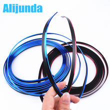5 m Car Grille Inner Outer Profiles Trim Decorative Ribbon Line for Audi Q3 Q5 SQ5 Q7 A1 A3 S3 A4 S4 RS4 RS5 A5 A6 S6 C6 C7 S5