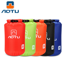 AOTU New Portable 20L Waterproof Diving Bag Travel Storage Dry Bag for Canoe Kayak Rafting Outdoor Camping Travel Kit 252(China)