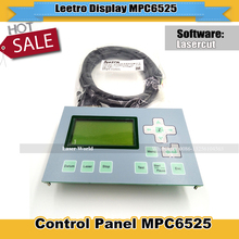 Leetro Display  MPC6525 Control Panel Used  For Laser Engraving Machine And Co2 Laser Cutting  Machine Free Shipping
