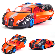 New CIKOO Colorful 1:32 Bugatti Shape Alloy Pull Back Cars Model Child Toy Car Arrive(China)