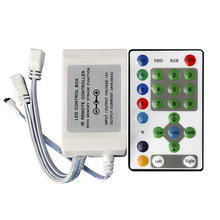 RGB Controller DC12V 3A*9 With 5-Keys Ir Marquee Controller Dimmer For Led Strips RGB For Horse Race RoHS CE (C1)