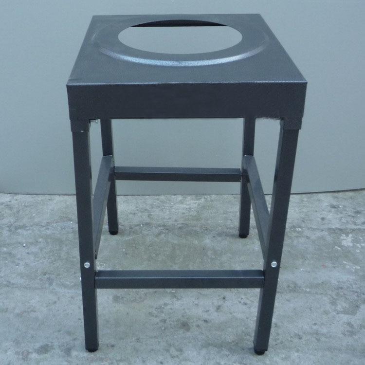 Feste Sperrholz 18mm Mit Laminiert Top Heißer Verkauf Bankett Tisch Halbrund Klapptisch Stahlklapp Bein
