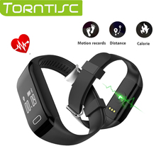 Torntisc For IOS & Android Smartphone H3 Smart Band Bracelet IP69 Waterproof Support Heart Rate Monitor Swimming Smart Wristband