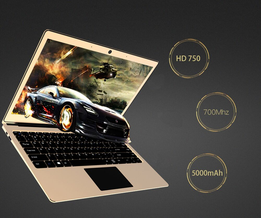 13.3 Inch Type-C Quad Core N3450 Laptop With 6GB RAM+32GB eMMC+128GB SSD Camera Ultrabook Laptop Windows10 IPS Screen Computer