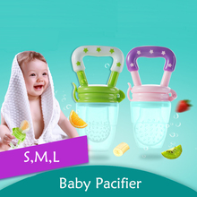 Baby Pacifier Fresh Food Milk Nibbler Feeder Kids Nipple Feeding Safe Supplies Nipples Teat Children Pacifiers Drinking Bottle