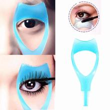 1pc Women Makeup Practical card Eye 3 in 1 Mascara Eyelash Applicator Eye Lashes Guide Card Comb Makeup Cosmetic Tools