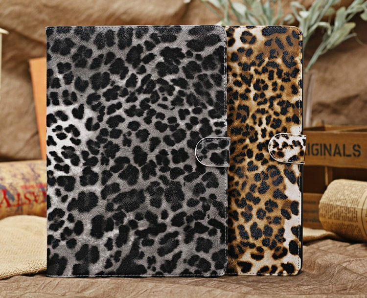 For Apple iPad Air Case Fashion Leopard Magnetic Folio PU Smart Leather Case Cover With Stand Holder For Apple iPad 5<br><br>Aliexpress