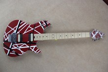 Brand new arrival guitars kramer 5150 RED and white EVH series ARI tremolo Electric guitar free shipping