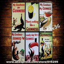 [ Mike86 ] Guiness Beer Signs Metal Poster Pub Retro Craft  Wall art Decor AA-153 Mix order 20*30 CM