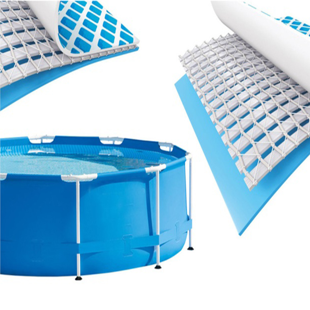 1,100 Gallons of Water Capacity Swimming Pool With Filter Pump Holds Up
