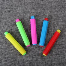 2 PCS Dustless Chalk Holders Holder Pen Chalk Clip Non Dust Teaching On Chalkboard Plastic Chalk Sets(China)