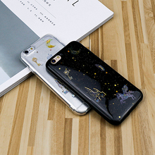 Buy iPhone 6 Case Glitter Powder Moon Sky Star Phone Case iPhone 7 Case Soft TPU Mobile Phone Coque Shell iPhone X Case for $2.99 in AliExpress store