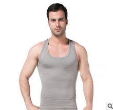 hot sell Slim vest,Lift For Men Slimming quick dry Shirt,,Weight Vest Shaping Undergarment Elimination Of Male Beer Belly Z-369