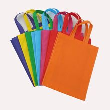 wholesale 100pcs/lot 26x32Hx8cm reusable eco-friendly non woven shopping bags can custom printing logo many colors to choose