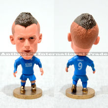 "1pec Soccer 9# VARDY (LC-2016) 2.5"" Action Doll Toy Figurine Football Player figure christmas(China)"