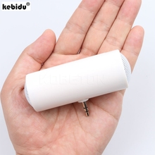 kebidu Mini Portable 3.5mm speakers Loudpeakers Music Stereo Audio speaker for xiaomi Sony MP3 MP4 Tablet for Smartphone(China)