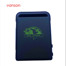 MINI GPS/TK102 GPS Tracker For Kids Child Elderly Vehicle Pet Bike personal  Real Time GSM/GPRS/GPS 4 Band TF Card Slot Dog