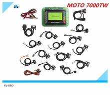 Free Shipping Motorcycle Scanner MOTO 7000TW V8.1 Universal Motorbike Scan Tool with Multi Languages